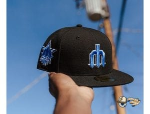 Hat Club Exclusive Blackberry 1 MLB 59Fifty Fitted Hat Collection by MLB x New Era Mariners