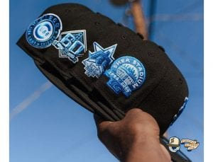 Hat Club Exclusive Blackberry 1 MLB 59Fifty Fitted Hat Collection by MLB x New Era Side