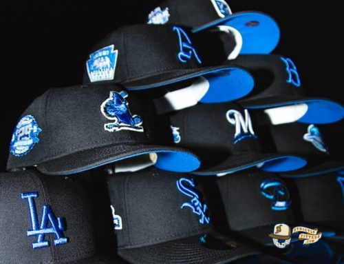 Hat Club Exclusive Blackberry MLB 59Fifty Fitted Hat Collection by MLB x New Era