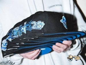 Hat Club Exclusive Blackberry MLB 59Fifty Fitted Hat Collection by MLB x New Era Side