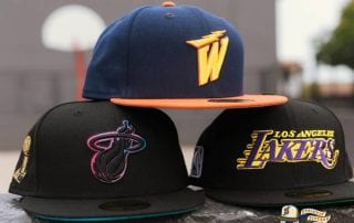 Hat Club Exclusive NBA Swoosh 59Fifty Fitted Hat Collection by NBA x New Era