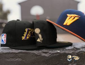 Hat Club Exclusive NBA Swoosh 59Fifty Fitted Hat Collection by NBA x New Era Side