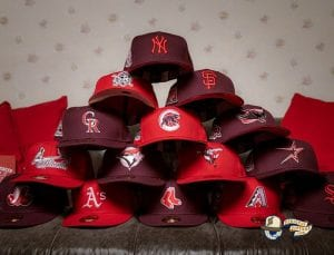 Hat Club Exclusive Sweethearts MLB 59Fifty Fitted Hat Collection by MLB x New Era Pack