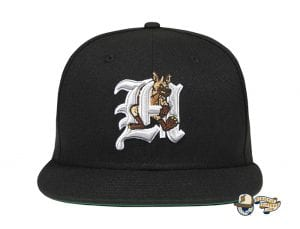 Hyena 59Fifty Fitted Cap by The Hundreds x New Era Black