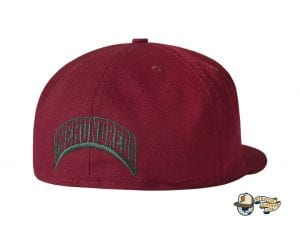 Hyena 59Fifty Fitted Cap by The Hundreds x New Era Burgundy