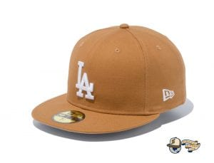Los Angeles Dodgers Duck Canvas 59Fifty Fitted Cap by MLB x New Era Front