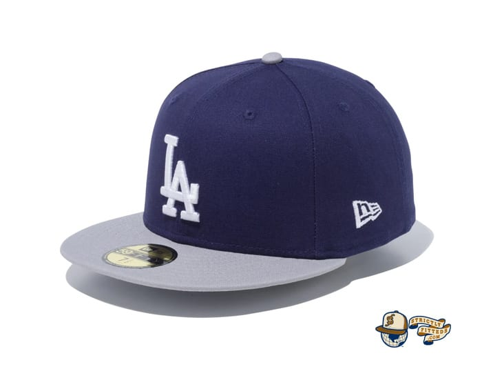 Los Angeles Dodgers Duck Canvas 59Fifty Fitted Cap by MLB x New Era