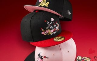 Mickey Mouse Valentines Day 59Fifty Fitted Cap Collection by Disney x New Era