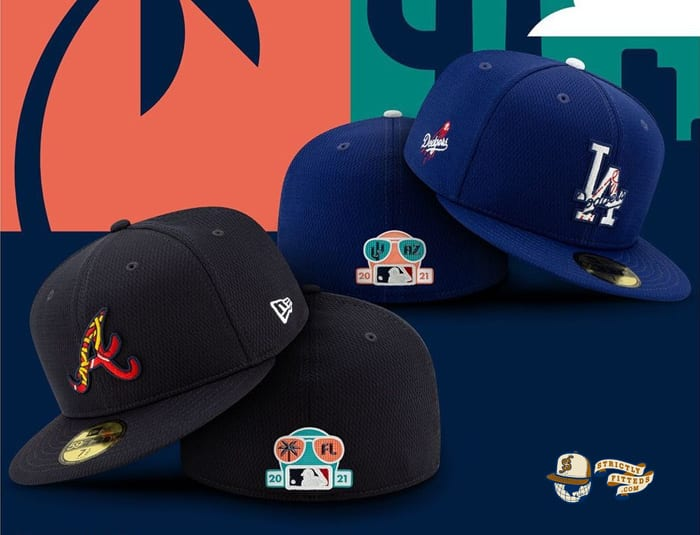 MLB Spring Training 2021 59Fifty Fitted Cap Collection by MLB x New Era