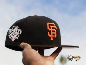 MLB Tier 1 Pinkies 59Fifty Fitted Hat Collection by MLB x New Era Giants