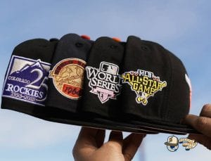 MLB Tier 1 Pinkies 59Fifty Fitted Hat Collection by MLB x New Era Patch