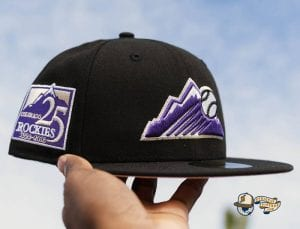 MLB Tier 1 Pinkies 59Fifty Fitted Hat Collection by MLB x New Era Rockies