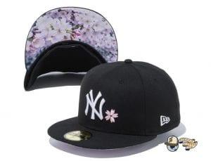 New York Yankees Sakura 59Fifty Fitted Cap by MLB x New Era