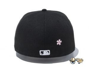 New York Yankees Sakura 59Fifty Fitted Cap by MLB x New Era Back