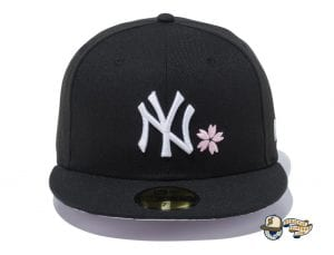 New York Yankees Sakura 59Fifty Fitted Cap by MLB x New Era Front