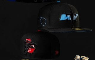 NFL State Logo Reflected 59Fifty Fitted Cap by NFL x New Era