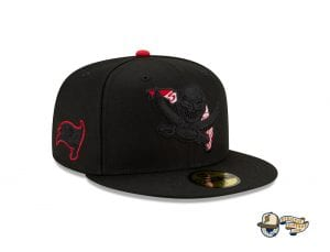 NFL State Logo Reflected 59Fifty Fitted Cap by NFL x New Era Buccaneers