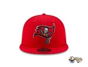 Tampa Bay Buccaneers Super Bowl LV Champions Side Patch 59Fifty Fitted Cap by NFL x New Era Front