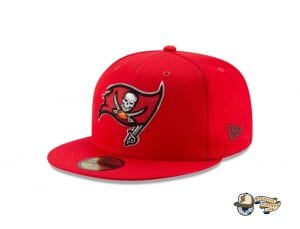 Tampa Bay Buccaneers Super Bowl LV Champions Side Patch 59Fifty Fitted Cap by NFL x New Era Left