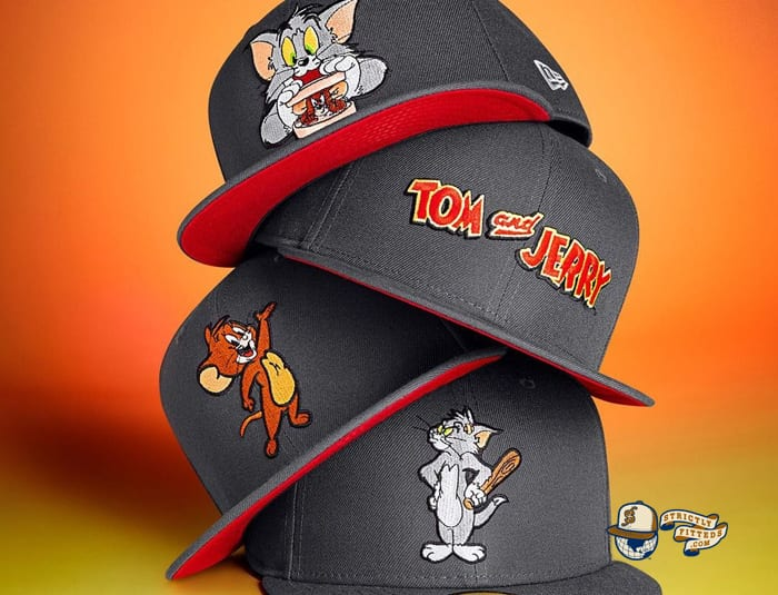 Tom And Jerry 59Fifty Fitted Cap Collection by Tom And Jerry x New Era