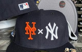 Yankees x Mets Cooperstown Subway Series 59Fifty Fitted Cap by MLB x New Era