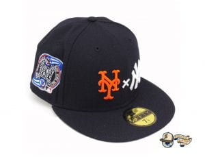 Yankees x Mets Cooperstown Subway Series 59Fifty Fitted Cap by MLB x New Era Left