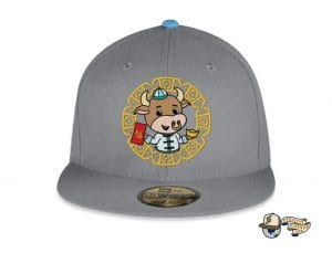 Year Of The Ox 59Fifty Fitted Cap by The Capologists x Stardoodles x New Era Front