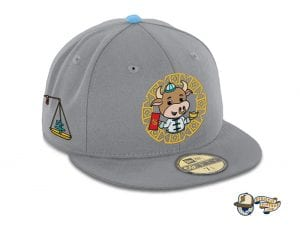 Year Of The Ox 59Fifty Fitted Cap by The Capologists x Stardoodles x New Era Right