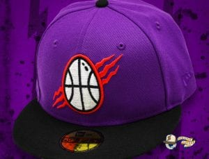 Dino Egg Purple Black 59Fifty Fitted Cap by Noble North x New Era