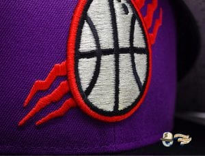 Dino Egg Purple Black 59Fifty Fitted Cap by Noble North x New Era Zoom