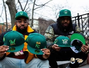 Hat Club Exclusive Green With Envy 59Fifty Fitted Hat Collection by New Era Undervisor