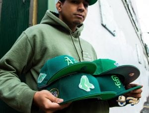 Hat Club Exclusive Green With Envy 59Fifty Fitted Hat Collection by New Era Front