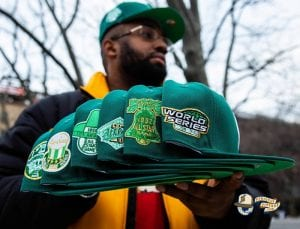 Hat Club Exclusive Green With Envy 59Fifty Fitted Hat Collection by New Era Side