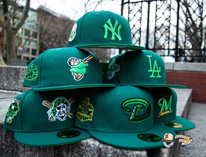 Hat Club Exclusive Green With Envy 59Fifty Fitted Hat Collection by New Era