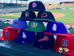 Hat Club Exclusive MLB Custom Spring Training 2021 59Fifty Fitted Hat Collection by MLB x New Era Front