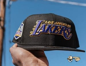 Los Angeles Lakers 2020 Finals Champions 59Fifty Fitted Hat Collection by NBA x New Era