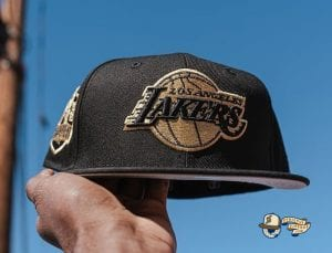 Los Angeles Lakers 2020 Finals Champions 59Fifty Fitted Hat Collection by NBA x New Era Logo