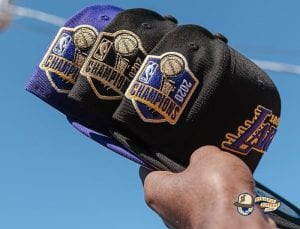 Los Angeles Lakers 2020 Finals Champions 59Fifty Fitted Hat Collection by NBA x New Era Side