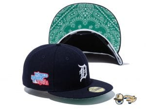 MLB Paisley Undervisor 59Fifty Fitted Cap Collection by MLB x New Era Tigers