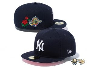 MLB World Series Patch State Flower 59Fifty Fitted Cap Collection by MLB x New Era