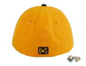 Pirate Skull Gold Black 59Fifty Fitted Hat by Chamucos Studio x New Era Back