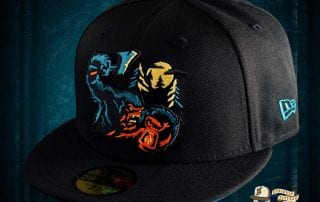 Sasquatch Black 59Fifty Fitted Cap by Noble North x New Era