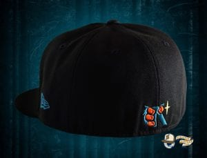 Sasquatch Black 59Fifty Fitted Cap by Noble North x New Era Back