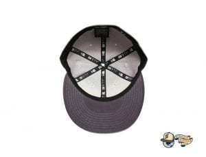 Script Gray Low Profile 59Fifty Fitted Cap by Fitted Hawaii x New Era Undervisor