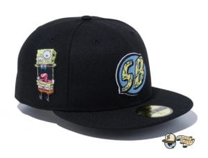 Spongebob 2021 59Fifty Fitted Cap Collection by Spongebob Squarepants x New Era Black