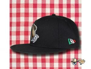 That's Amore 59Fifty Fitted Cap by Over Your Head x New Era Side