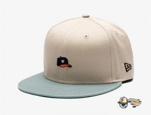 Undefeated Hat 59Fifty Fitted Cap by Undefeated x New Era Khaki