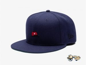 Undefeated Hat 59Fifty Fitted Cap by Undefeated x New Era Navy