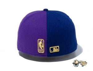 2020 Champions Los Angeles Dodgers Los Angeles Lakers 59Fifty Fitted Cap by MLB x NBA x Back