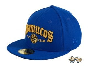 Cap Club Royal 59Fifty Fitted Hat by Chamucos Studio x New Era Left